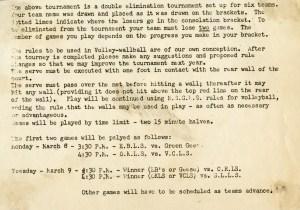 Women's volleywallball rules
