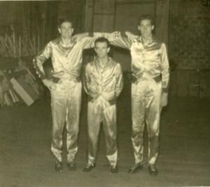 Basketball warmup suits 1936