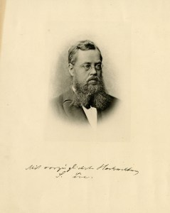 Sophus Lie portrait