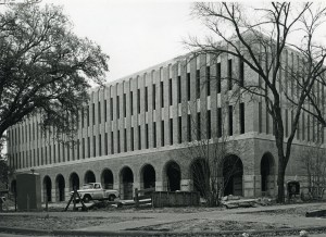 Allen Center Construction 1967