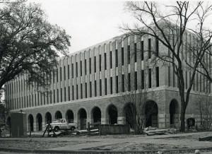 Allen Center Construction 1967