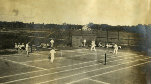 Doubles Match 1916 Knapp