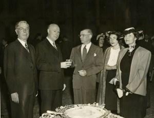 Houston April 1946 ARA dinner Hanszen Miss Anne Mrs