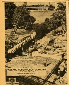 Last Days of Footbridge Sallyport Feb 1950