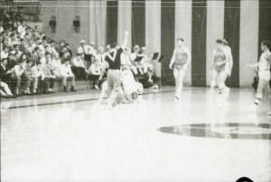 Basketball in gym 2