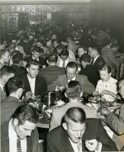 Dinner in Baker Commons 1958
