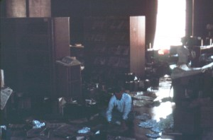 Library flood May 13 1966