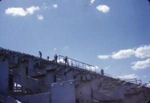 Tearing Down Old Stadium Sept 51