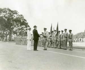 NROTC unit review 1961 62 school year