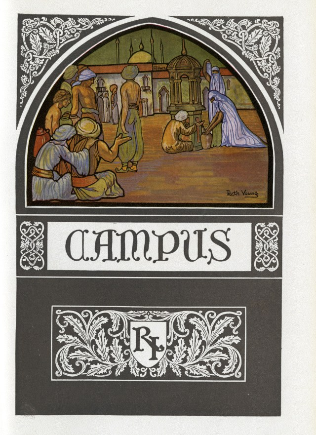 1923 Campanile Ruth Young illustration