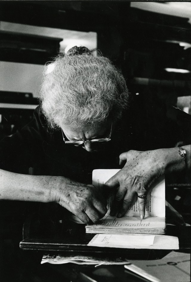 Sarah Lane book binding 2 1966
