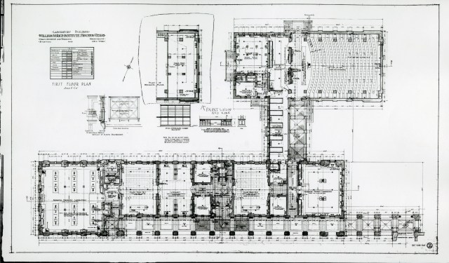 Physics plan first floor