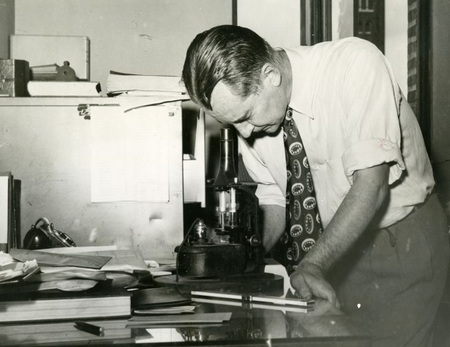 New Henry O Nicholas Chemistry professor fall 1949