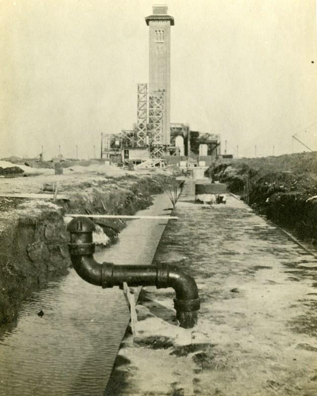 Watkin Mech Lab tunnel 1911