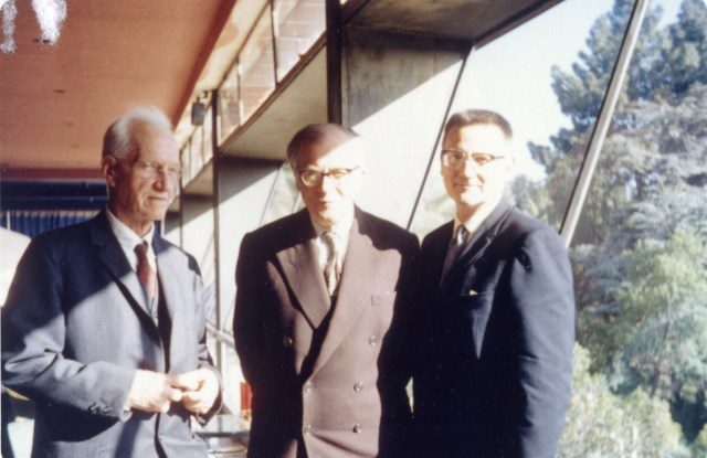 Evans and Huxley Berkeley 1962