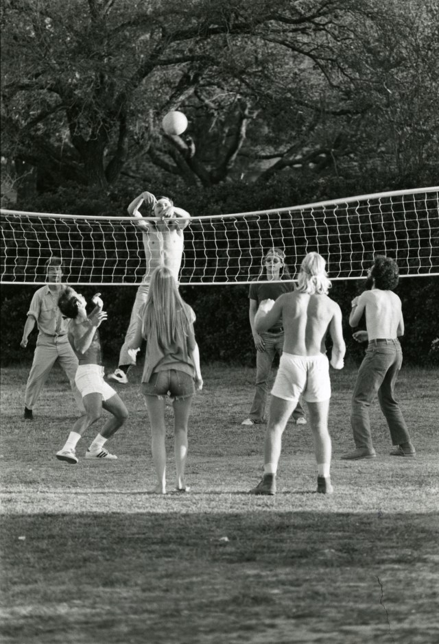 New volleyball 1976