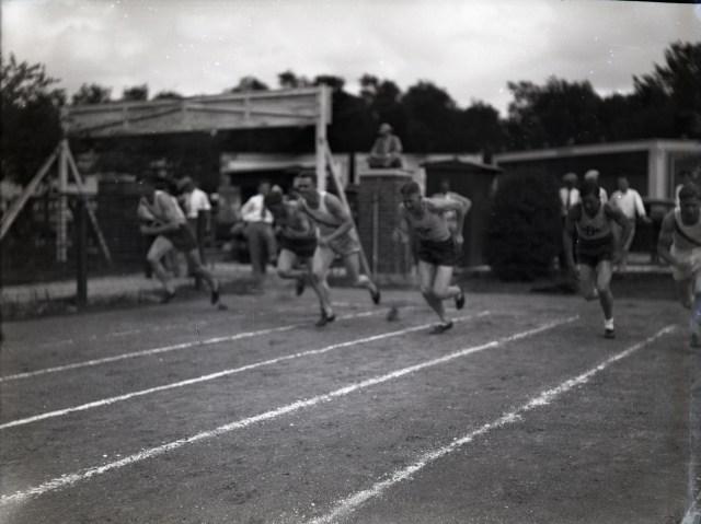 Track meet 1929 or 30 billboards