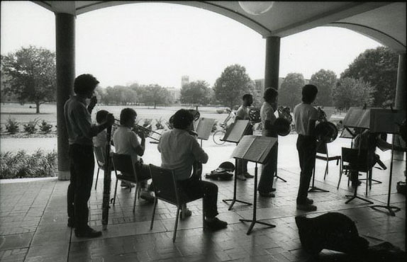 Shepherd school concert outside Hamman nd 2 004