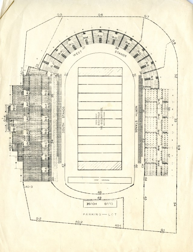 Stadium old drawing 1937