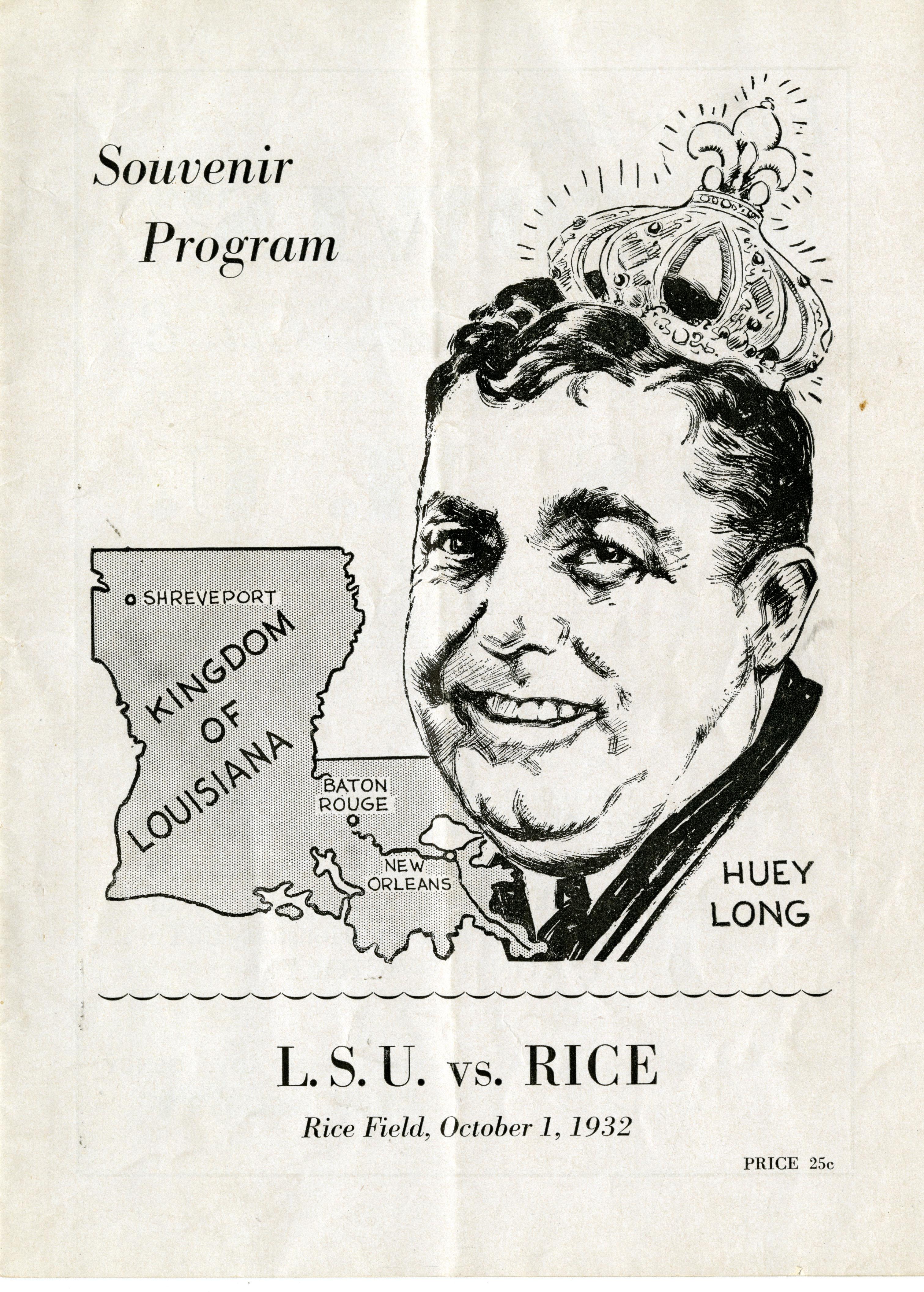 Rice vs. LSU | Rice History Corner