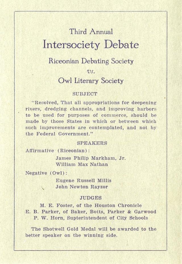 Literary societies 1916 2 046
