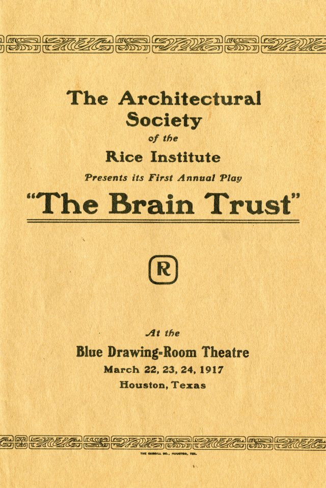 Brain Trust Architectural Society 1917 1 049