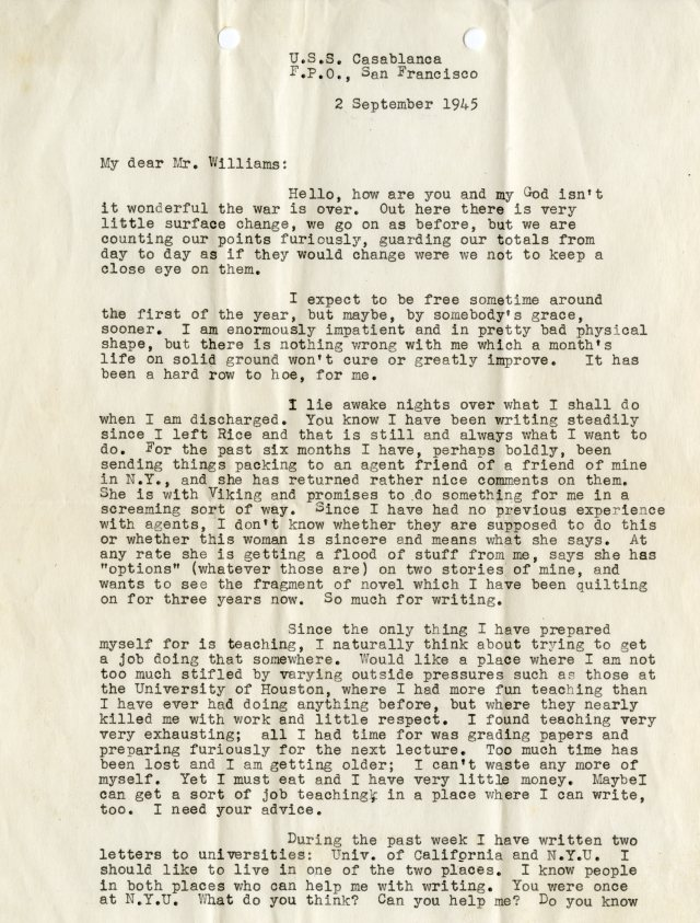 Goyens letter 1 Williams papers045
