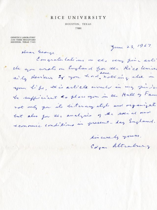 altenburg-letter-1967-genetic-lab-george-williams-papers-4-37-049