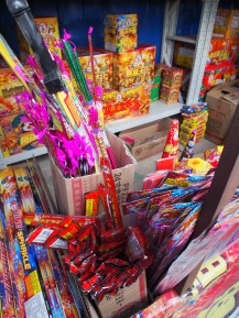 Some of the many firecrackers one can buy in Beijing.