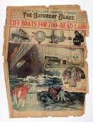 1912 Titanic Newspaper