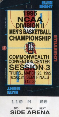 NCAA Division 2 Elite 8 Games, 1995
