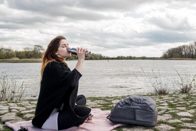 Ricemilkmaid Blog: Meine 3 umweltfreundlichen Alltagsgegenstände | VAUDE Rucksack, Klean Kanteen Edelstahl-Flasche und Glas-Vorratsdosen