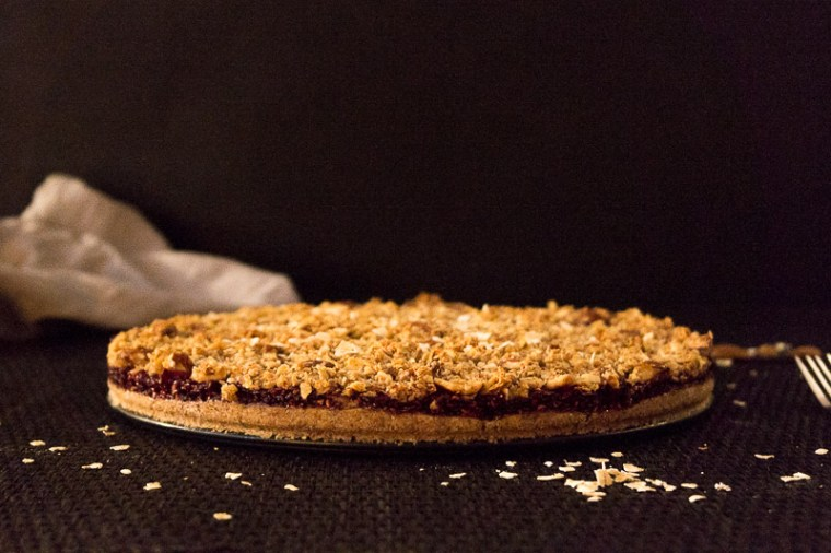 Chia-Himbeer-Streuselkuchen, extrem gesund und vegan | Ricemilkmaid Blog