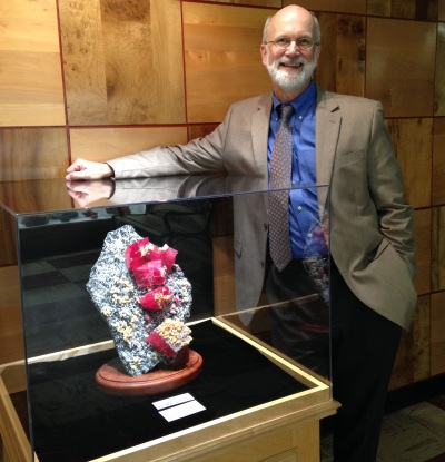 Rice Rock and Mineral Museum - Julian Gray - Executive Director.