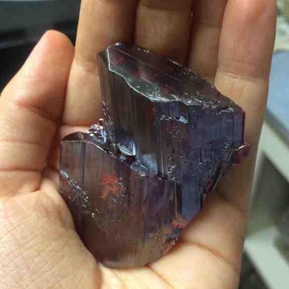 Realgar crystal