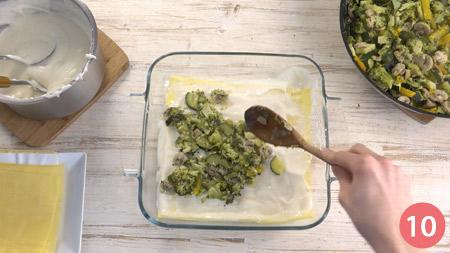 Lasagne vegetariane - Passaggio 10