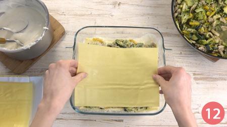 Lasagne vegetariane - Passaggio 12