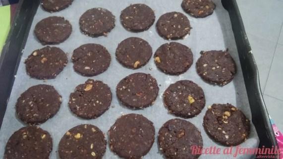 Biscotti grancereale al cioccolato (vegani) - 9-1
