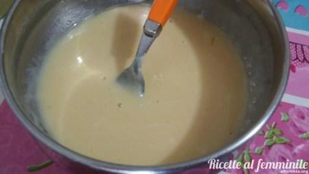 Torta salata ai carciofi con pasta al vino - ripieno-liquido
