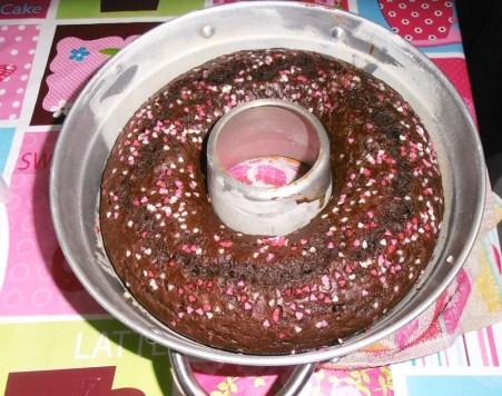 torta al cacao e torrone