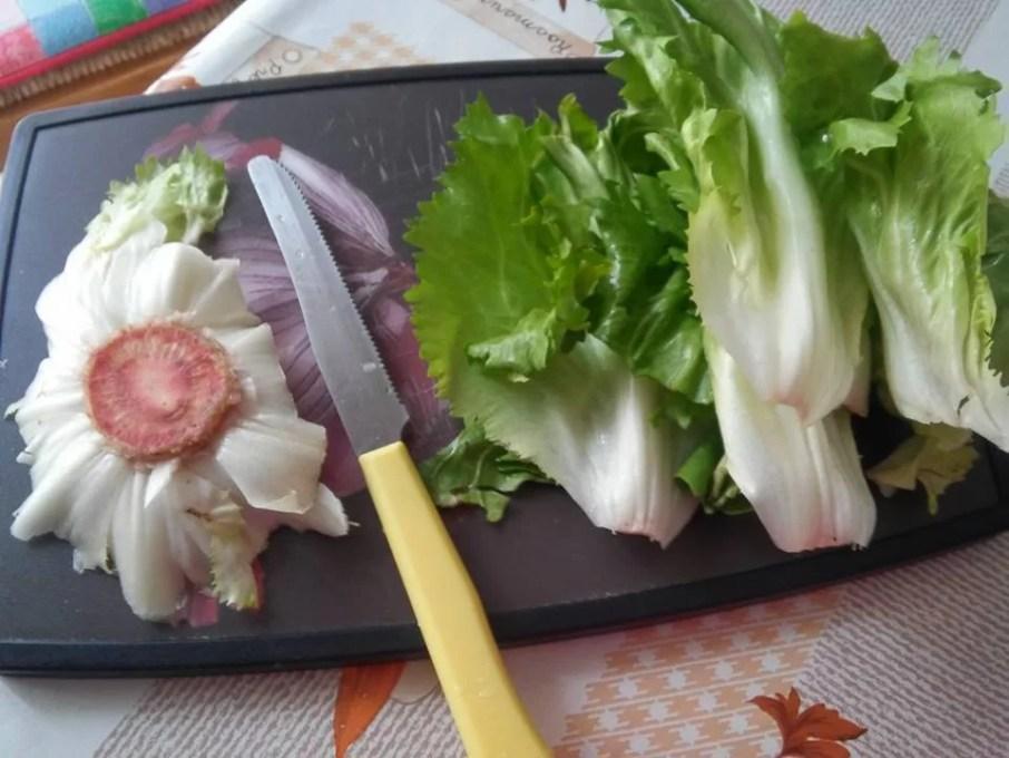Scarola in padella con olive, capperi e alici - 1-1