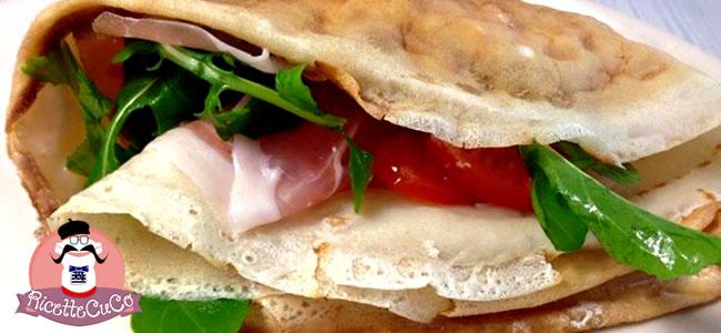 Crepes salate condite a crudo: moulinex cuisine companion ricettecuco ricette cuco bimby