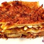 Lasagna saporita con ragu' di tacchino: cotta in 10 minuti al microonde