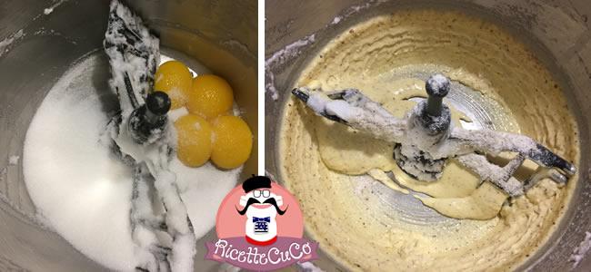 Tronchetto di Natale (Bûche de Noël) Tiziano Cardone ricette natalizie dolci monsieur cuisine moncu moulinex cuisine companion ricette cuco bimby kcook kenwood