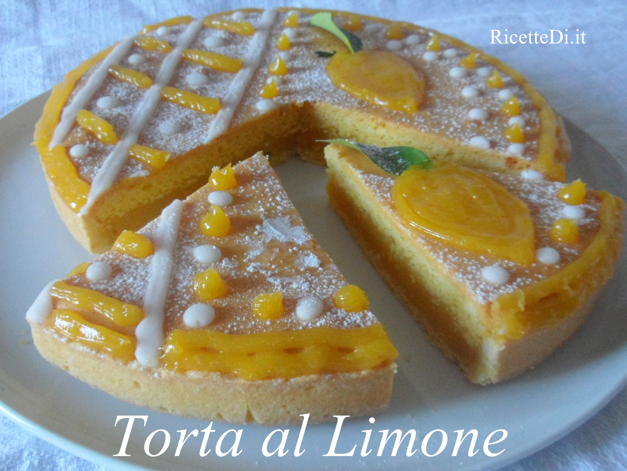 Torta Al Limone Ricettediit