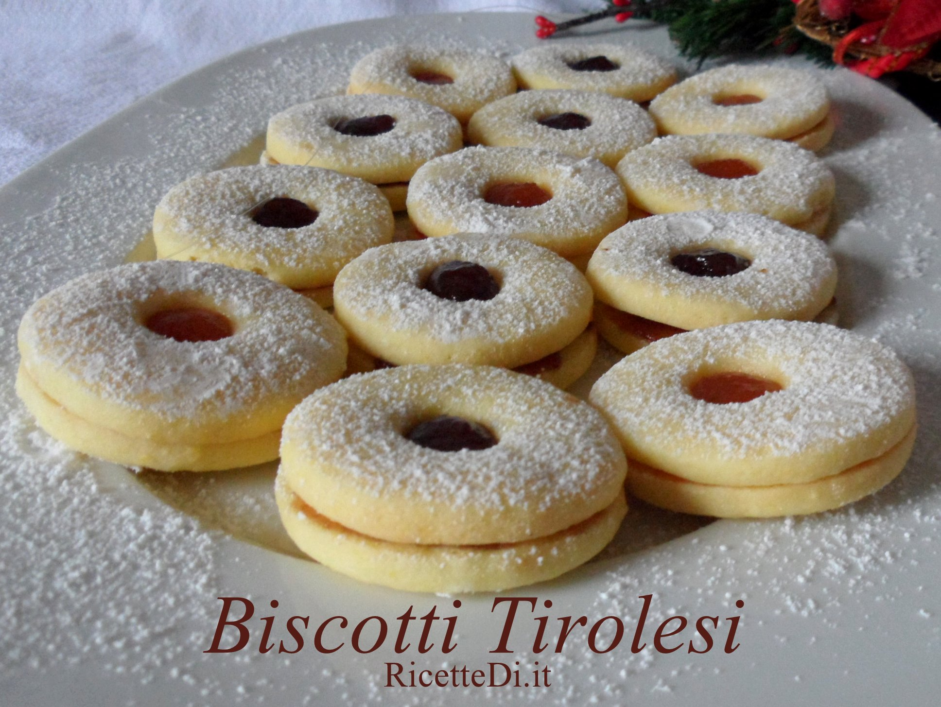 Biscotti Di Natale Tirolesi.Biscotti Tirolesi Ricettedi It