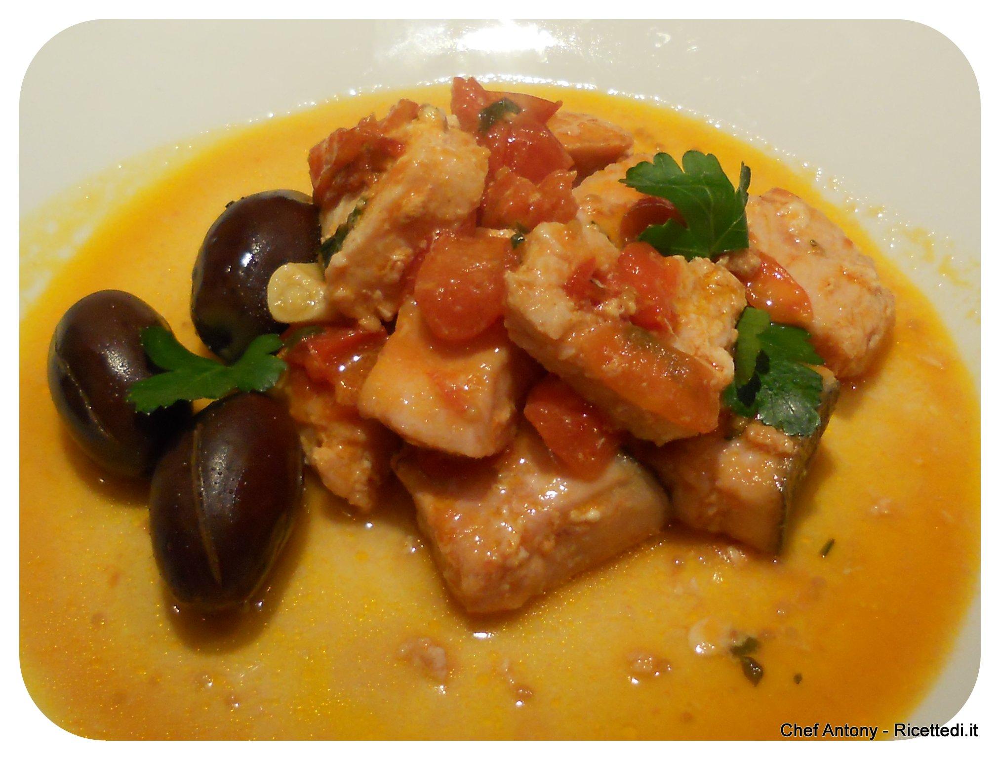 Pesce spada coi pomodorini - Cucinare olive appena raccolte ...