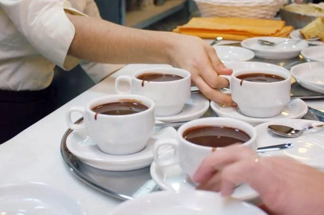 Cioccolata calda fatta in casa (1 tazza)