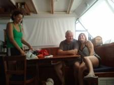 Silvana, Grandpa, Tina