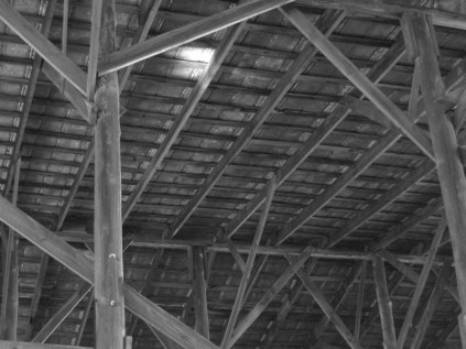 The boathouse roof
